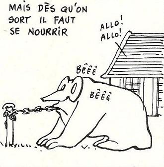 bande dessinée,charlie hebdo,humour,gébé,hara kiri,éditions du square,georges blondeaux,il est trop intellectuel