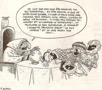 politique,france,société,georges brassens,jacques chirac,jean-marie le pen,cabu,le canard enchaîné,charlie-hebdo,dessin de presse,journalistes,jean-pierre raffarin,cabu la france des beaufs,éditions du square,lionel jospin,21 avril 2002